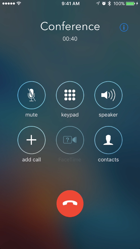 record 3-way conference calls on iPhone